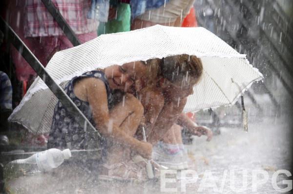 Украину ждут дожди