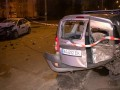В Киеве пьяный таксист протаранил авто, трое пострадавших