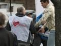 В харьковской милиции утверждают, что металлическая палка упала на бютовца