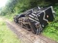 В Румынии сошел с рельсов туристический поезд