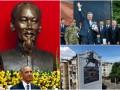 День в фото: Обама во Вьетнаме, мяч для Порошенко и новый мурал в Киеве