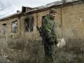В Широкино и Луганской области боевики били из крупного калибра