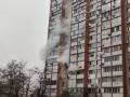 На Троещине в Киеве горит 16-этажный дом
