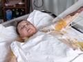 Гандзюк обратилась к властям с больничной койки