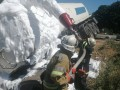 На Полтавщине перевернулся грузовик с 20 тоннами нефти