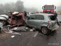 Масштабное ДТП под Одессой: столкнулись 11 машин, есть пострадавшие