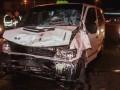 В Киеве в ночном ДТП пострадали семь человек