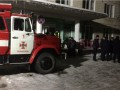 В Тернополе горела детская больница: есть пострадавший