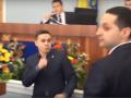 Вы что, ох*рели: видео эффектной драки черкасских депутатов