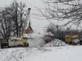 В Харькове на теплотрассе вновь произошла авария
