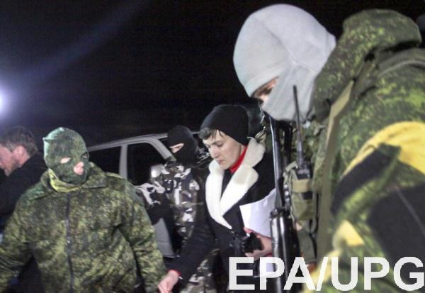 Савченко считает, что если она попала в ДНР, значит это была спецоперация