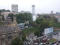 Выше неба: в центре Киева бил мощный фонтан