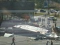В Днепре фура снесла парковку: есть жертвы