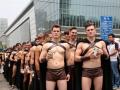 В Китае арестовали 100 обнаженных