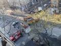 В Одессе снова загорелся колледж, который горел в декабре