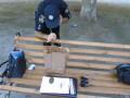 В Херсоне пьяный забыл гранату на скамейке
