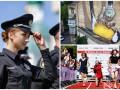 День в фото: полиция в Сумах, новый мурал в Киеве и забег на каблуках в Амстердаме