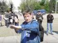В Одессе провокатор хамил чешскому журналисту, который приехал снимать акцию 2 мая