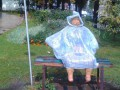 В парке Шевченка сломали скульптуру бабушке