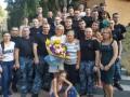 Освобожденные моряки из госпиталя отправляются в Одессу