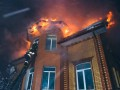 Спасатели в метель больше двух часов тушили пожар в частном доме