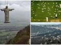 День в фото: копия Христа Спасителя, угольная шахта и чайки на матче
