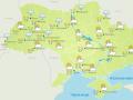 В Украину вернулось бабье лето с ливнями