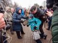 Массовое задержание активистов во время акции в Минске