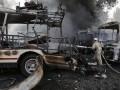 Донецк после взрывов и пожаров: фоторепортаж