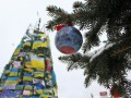 Новогодние елки Киева разных лет: ФОТОподборка