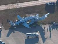 Два самолета столкнулись в США