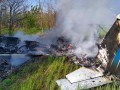 Под Днепром упал небольшой самолет, есть жертвы