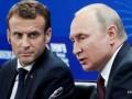 Путин после Меркель обсудил Беларусь с Макроном