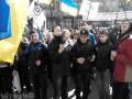 Под КГГА пенсионеры и школьники требовали отставки Кличко