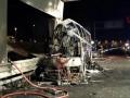 В Италии в аварию попал автобус с детьми: больше десяти погибших