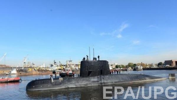 В Аргентине продолжают разыскивать подлодку Сан-Хуан