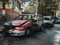 В Киеве ночью одновременно сгорели две машины одного владельца