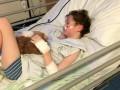 Мальчик заразился пневмонией от хомячка