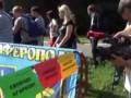 Посольство России в Киеве пикетируют в поддержку Надежды Савченко (видео)