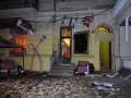 Саакашвили выпил чаю в одесском кафе, где прошлой ночью прогремел взрыв