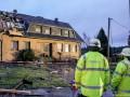 В Германии торнадо разрушил десятки домов
