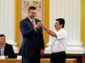 Как Виталий Кличко принес присягу мэра Киева (фото)