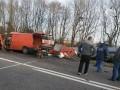 В Ровенской области микроавтобус влетел в бензовоз