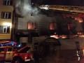 В Харькове ночью пылал банный комплекс: эвакуировали 50 человек