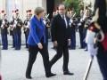 Меркель, Олланд и Путин по телефону обсудили войну на Донбассе