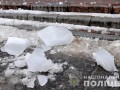 В Полтаве на ребенка упала ледяная глыба