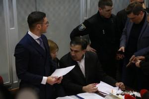 Саакашвили выпустили из бокса, пришла Тимошенко