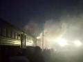 Под Харьковом горела электричка с пассажирами