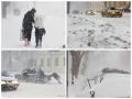 Сильный снегопад парализовал Одессу: въезды и выезды закрыты