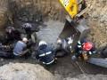 В Хмельницкой области мужчина погиб при оползне коллектора